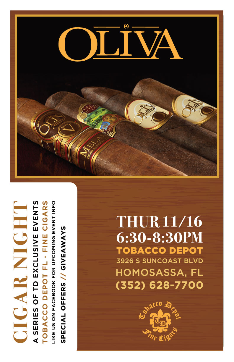 Oliva Cigar Night in Homosassa Springs