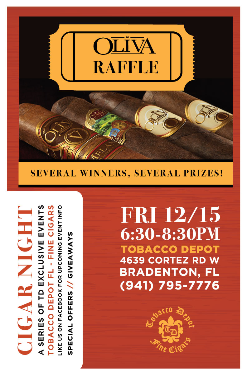 Oliva Raffle Giveaway in Bradenton