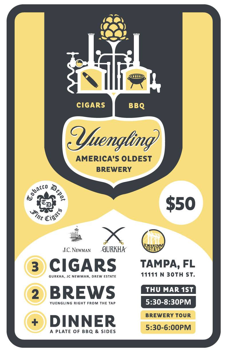 🍺 Yuengling Tampa Brewery Tour: BBQ, Cigars, and Brews