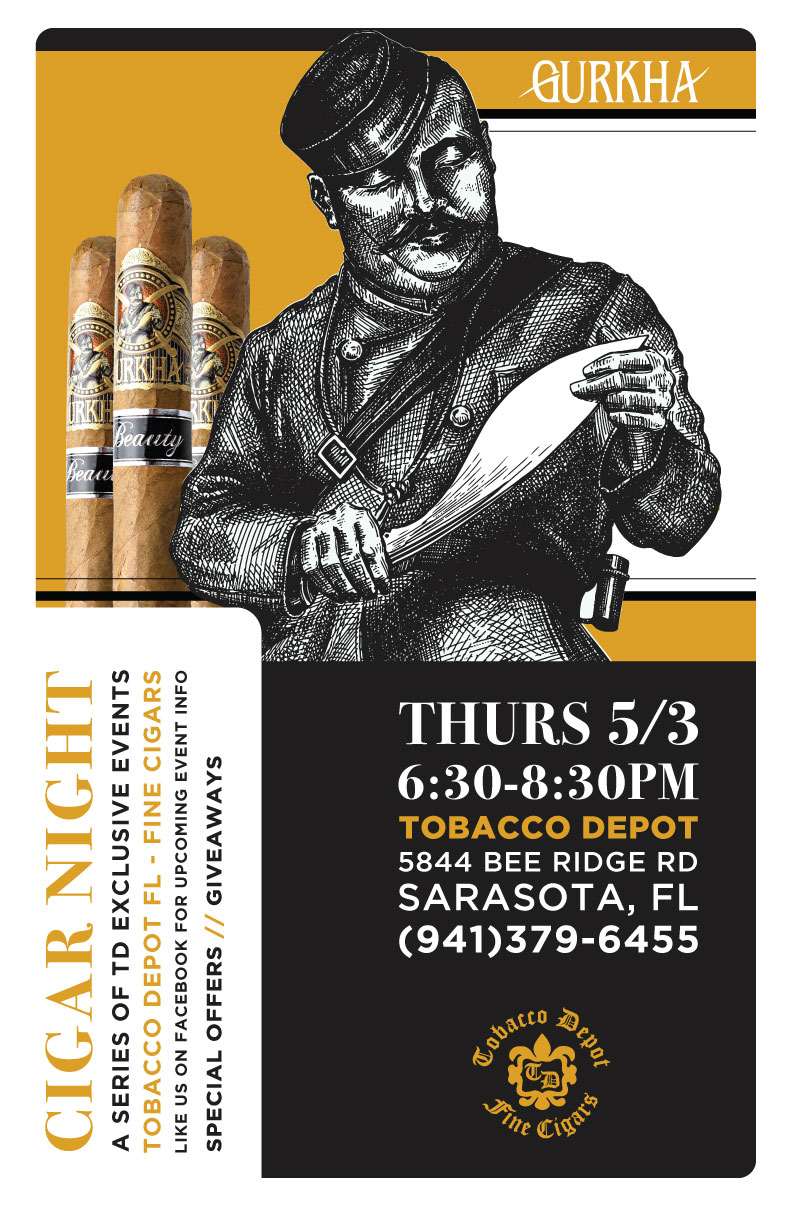 Gurkha Cigars in Sarasota