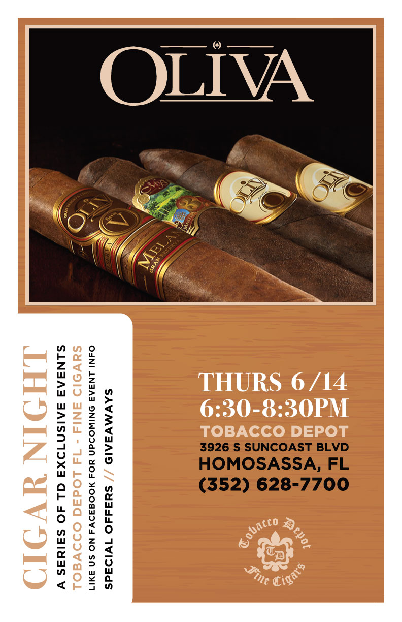 Oliva Cigar Night in Homosassa