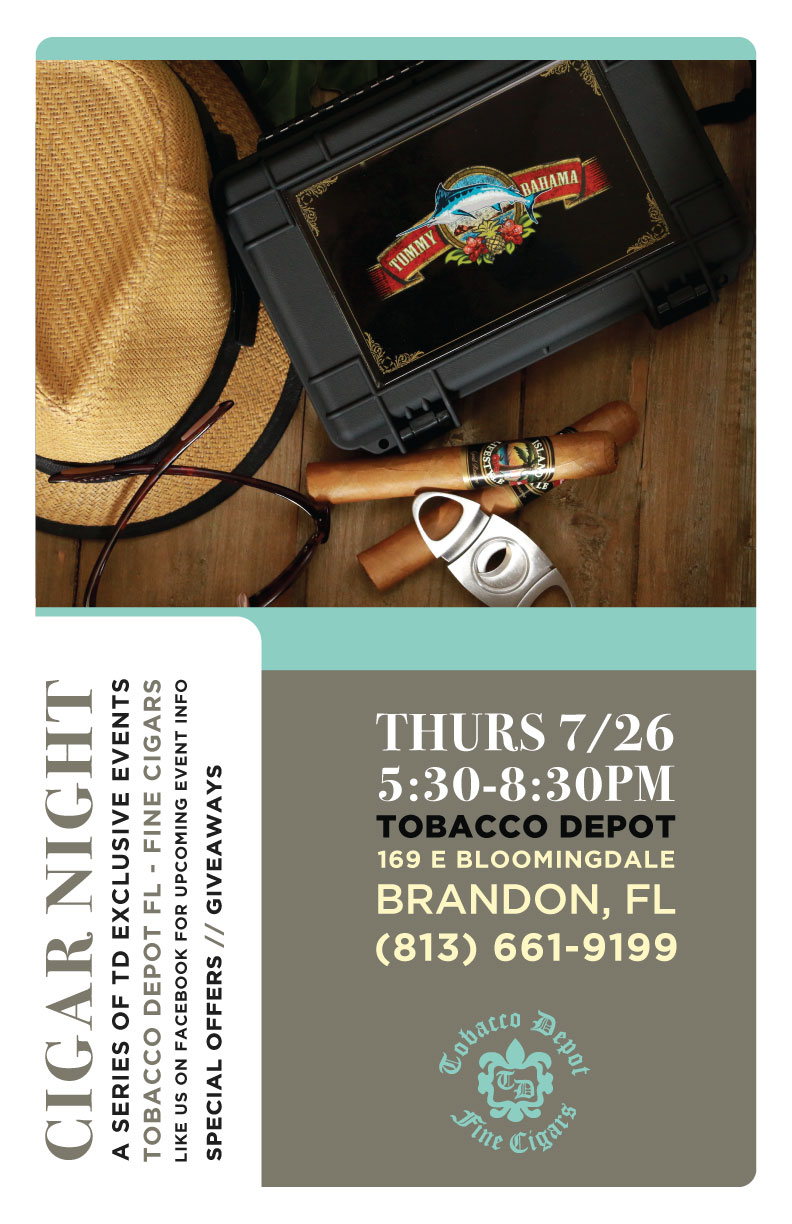 Tommy Bahama & Island Lifestyles Cigar Night in Brandon