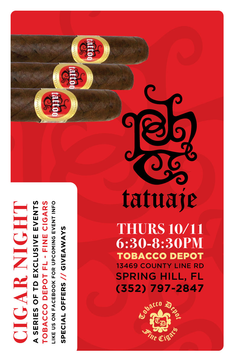 Tatuaje Cigar Night in Spring Hill