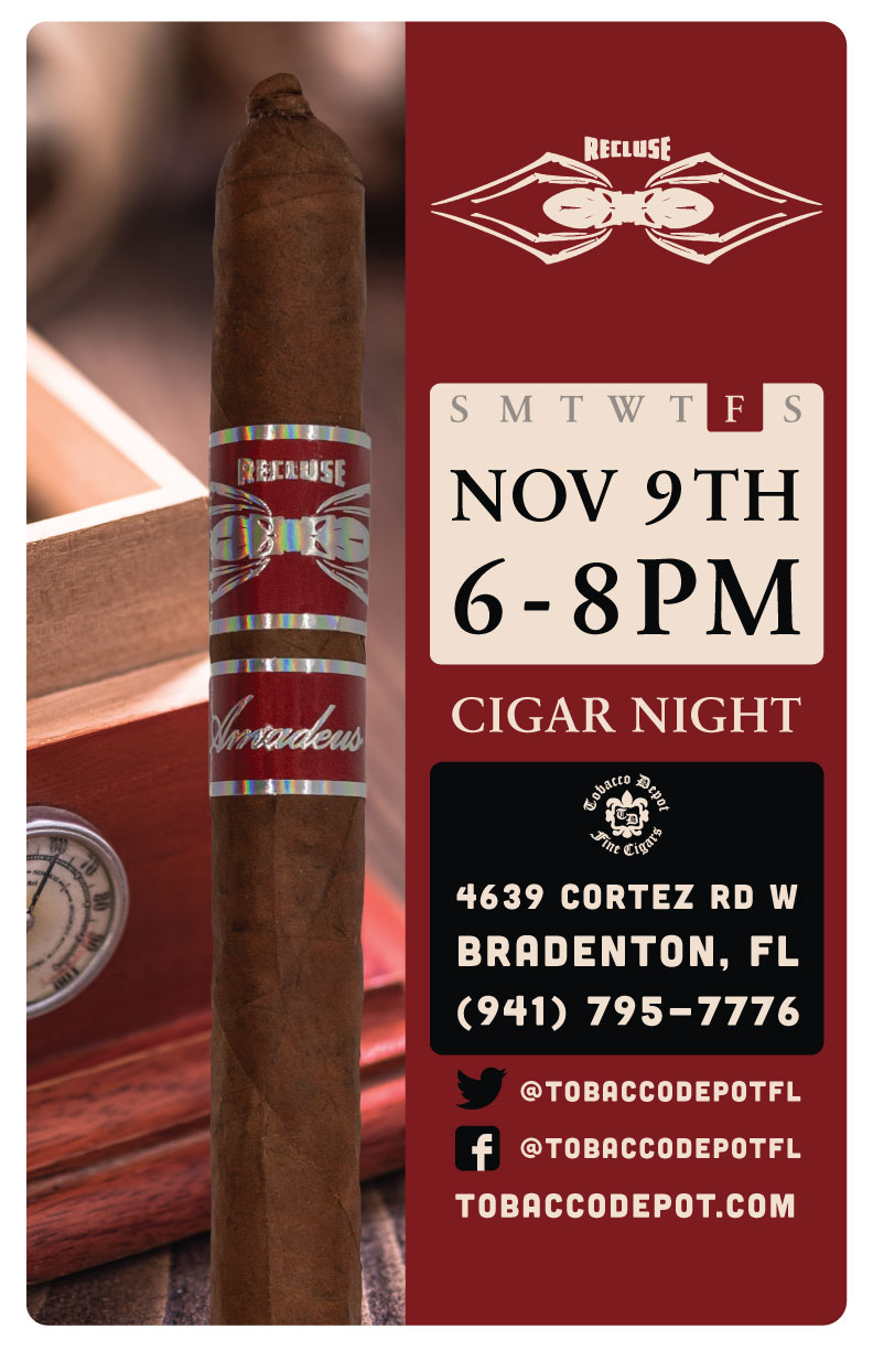 Recluse Cigar Night in Bradenton