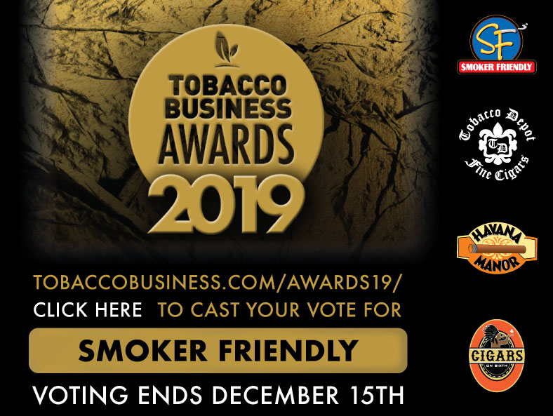 Vote for Smoker Friendly for Best Tobacco Chain