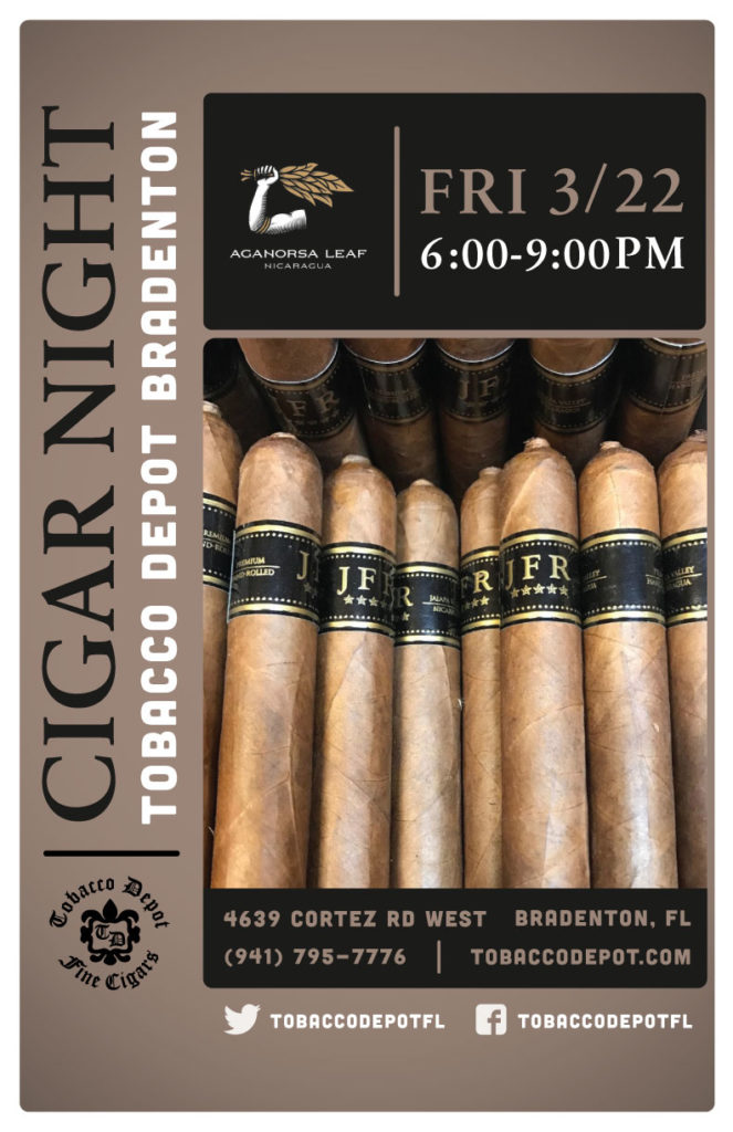Aganorsa Cigar Night in Bradenton