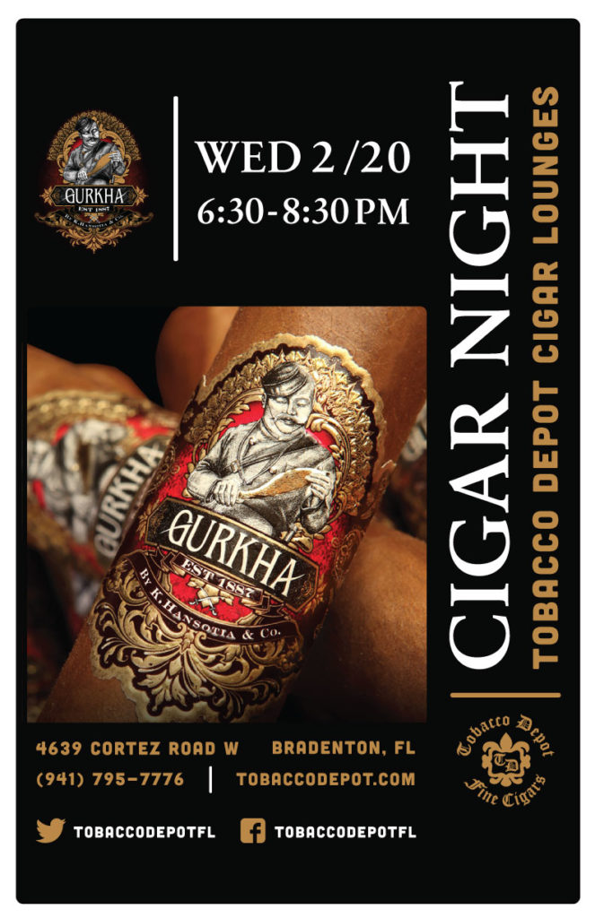Gurkha Cigar Night in Bradenton