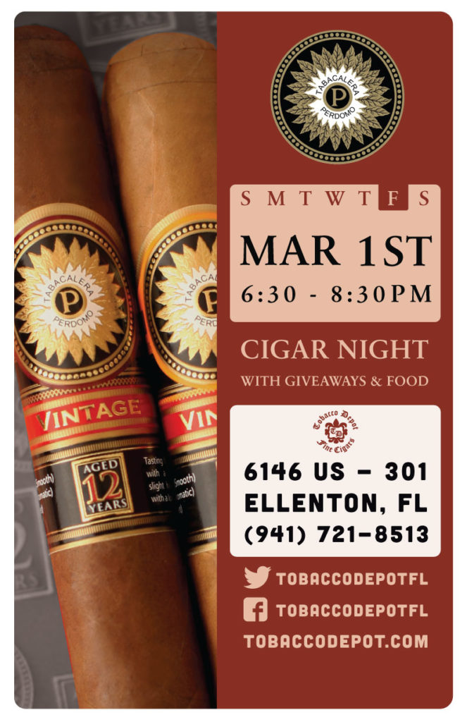 Perdomo Cigar Night