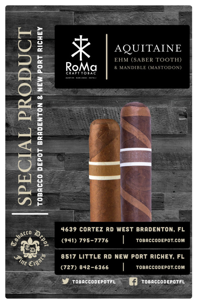 Roma Craft Tobac – Aquitaine Saber Tooth & Mastodon Available At Select Stores