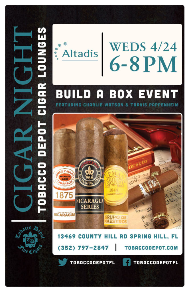 Altadis Build A Box Event in Spring Hill Featuring Charlie Watson & Travis Pappenheim