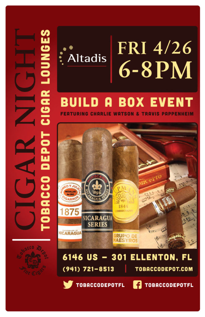 Altadis Build A Box Event in Ellenton Featuring Charlie Watson & Travis Pappenheim
