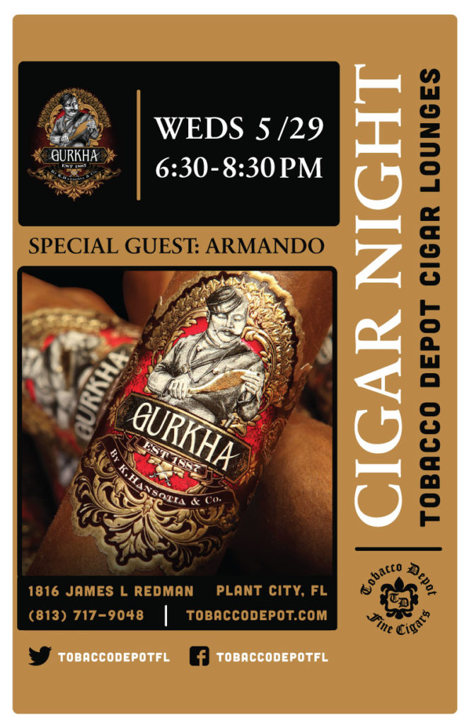 Gurkha Cigars- 5/29 at Plant City TD