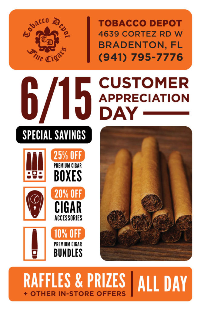 Customer Appreciation Day – Saturday – 5/16