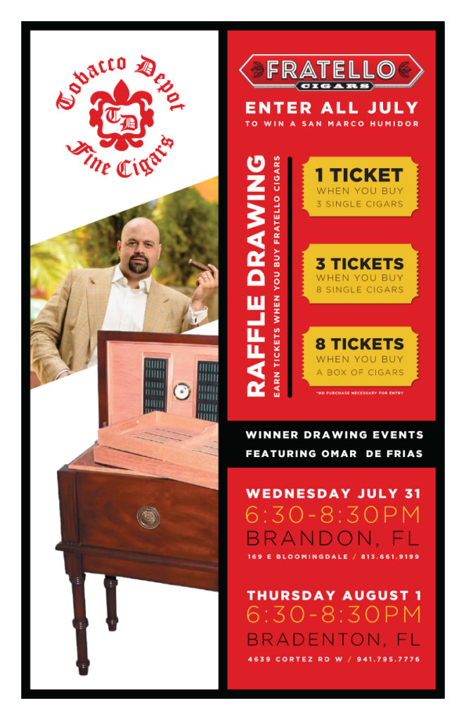 Buy Fratello Cigars 🎟️ Win A San Marco Humidor