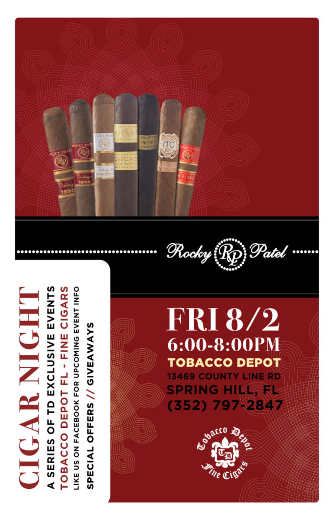 Rocky Patel Cigar Night in Spring Hill