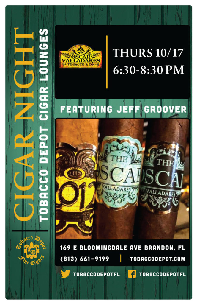 Oscar Valladares Cigars in Brandon