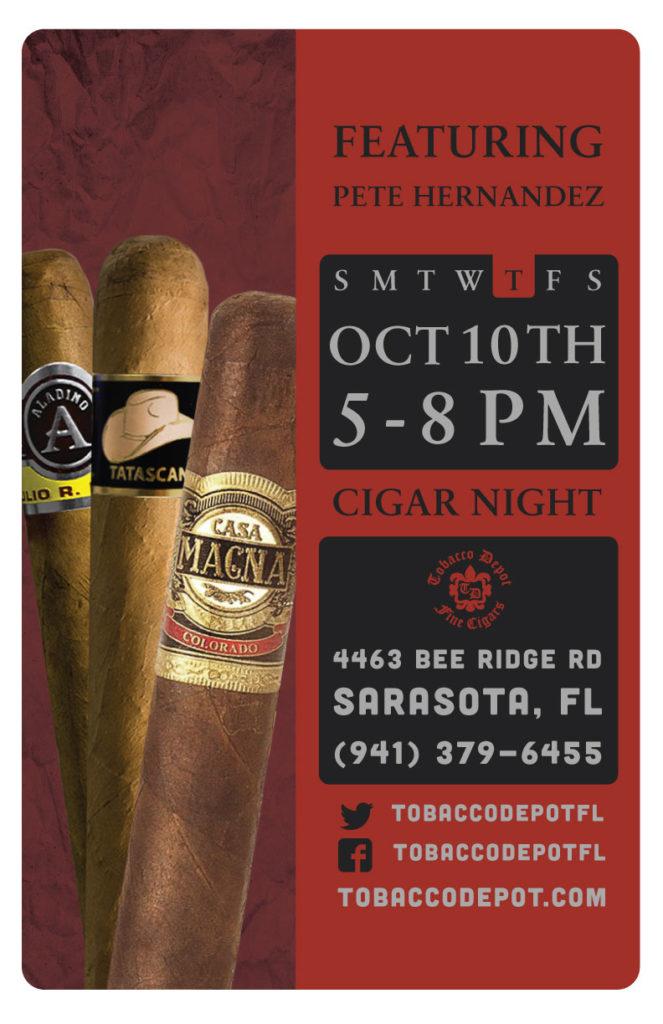 Cigar Night in Sarasota