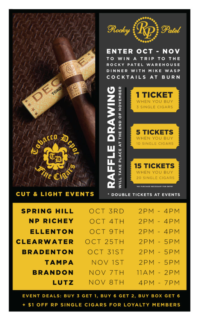 Buy Rocky Patel Cigars 🎟️ Win A Trip