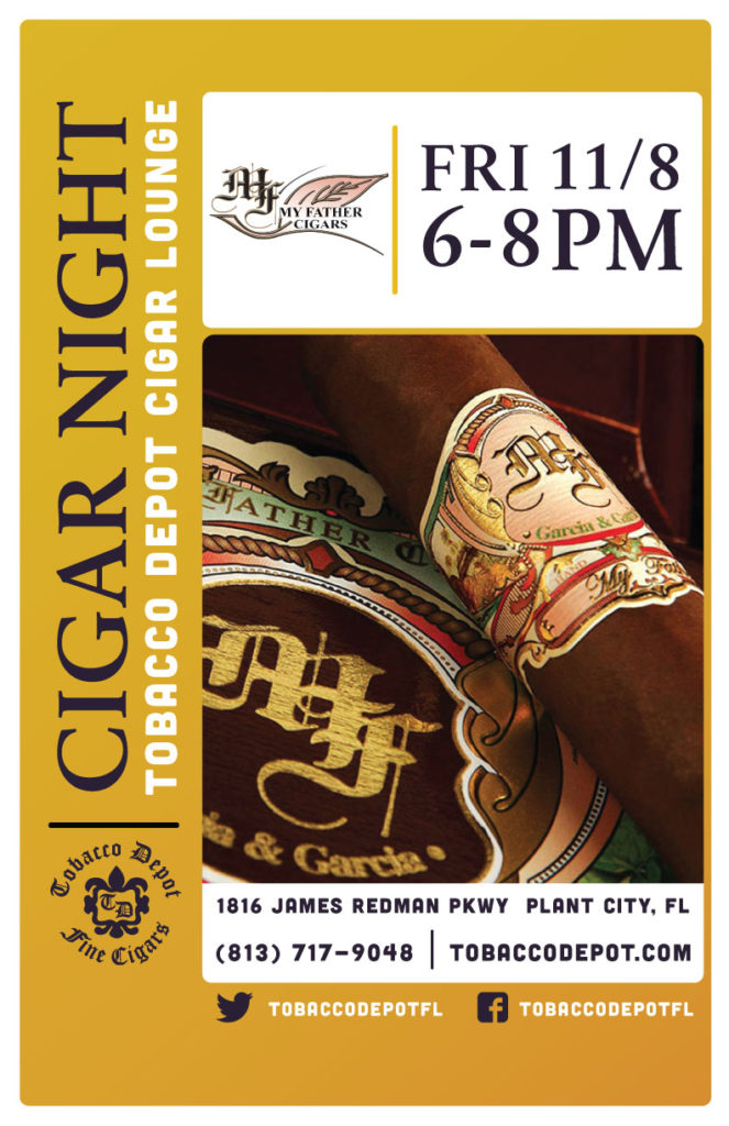 My Father Cigars – 11/8 at Plant City TD