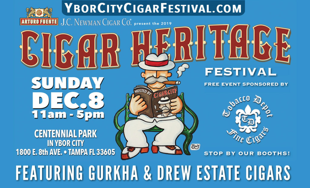 Tobacco Depot at YBOR Heritage Festival in Tampa