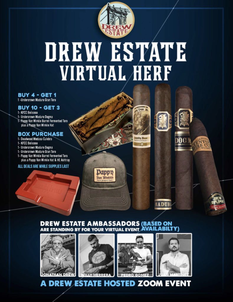 Drew Estate Virtual Sales Event Deals!