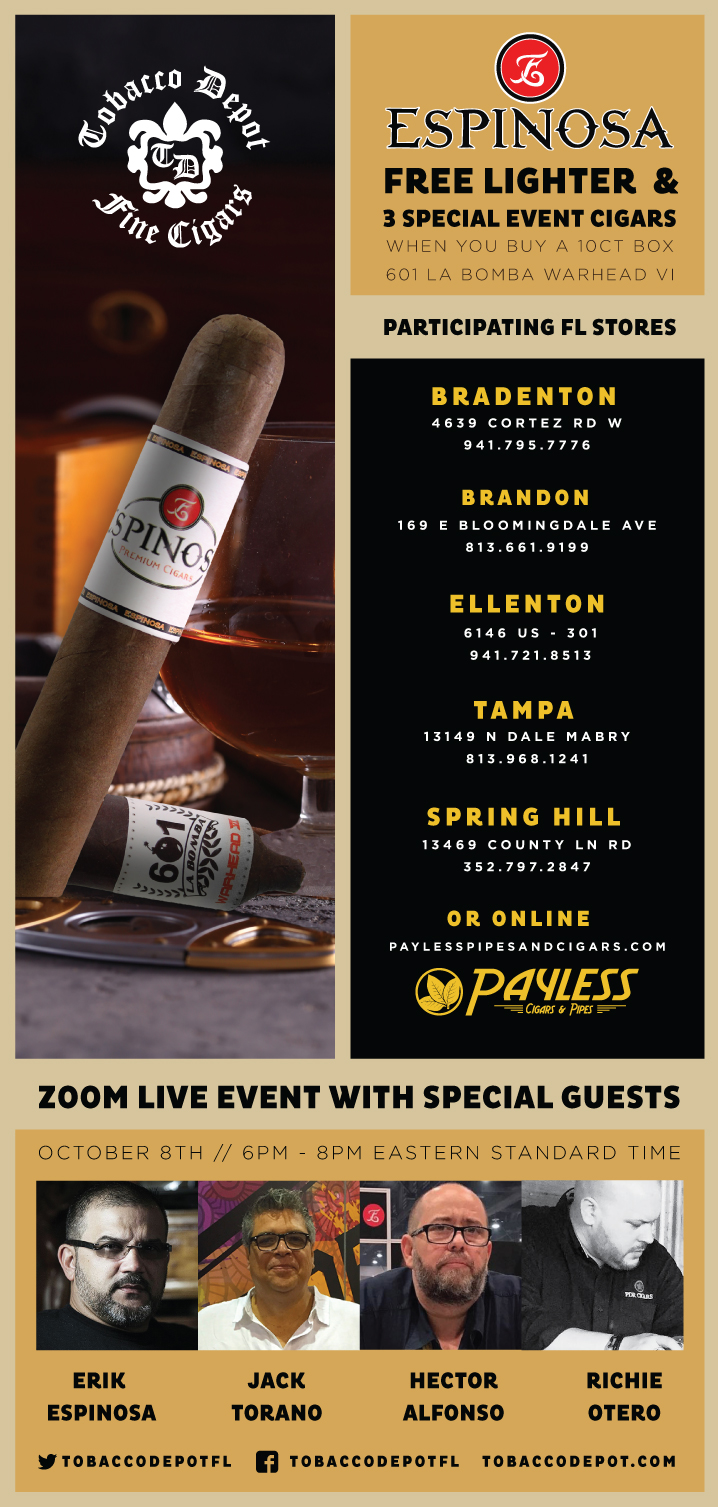 Espinosa Deal At Select TD Stores & Zoom Live Event