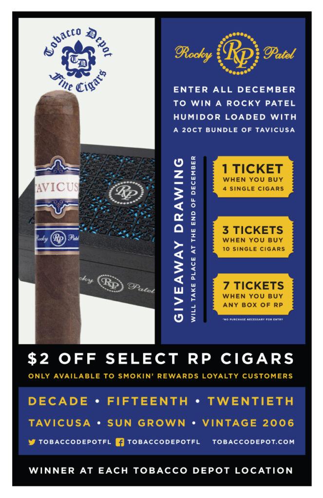 Buy Rocky Patel Cigars 🎟️ Win A Humidor & Cigars