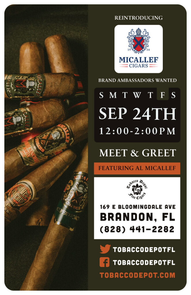 Micallef Meet & Greet – 9/24 from 12PM-2PM at Brandon TD
